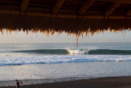 Keramas, Bali doing what it does best. Pic ASP/Kirstin